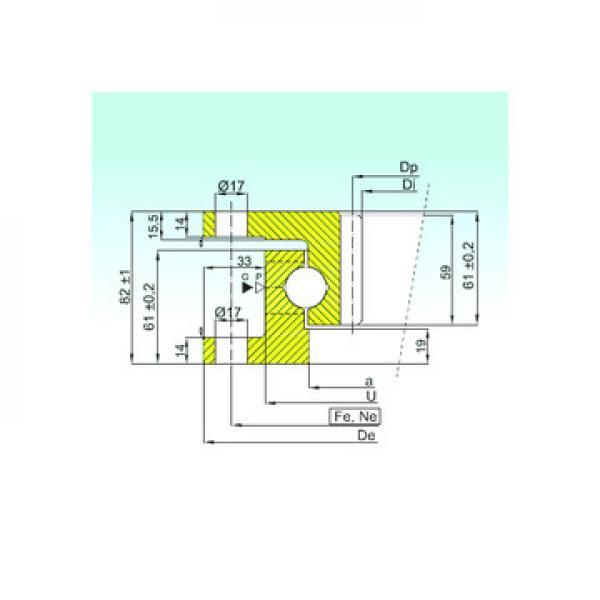 53307U+U307 ISO Kushineta me shtiza